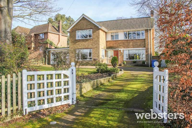 4 Bedrooms Detached House for sale in Bluebell Road, Norwich, NR4