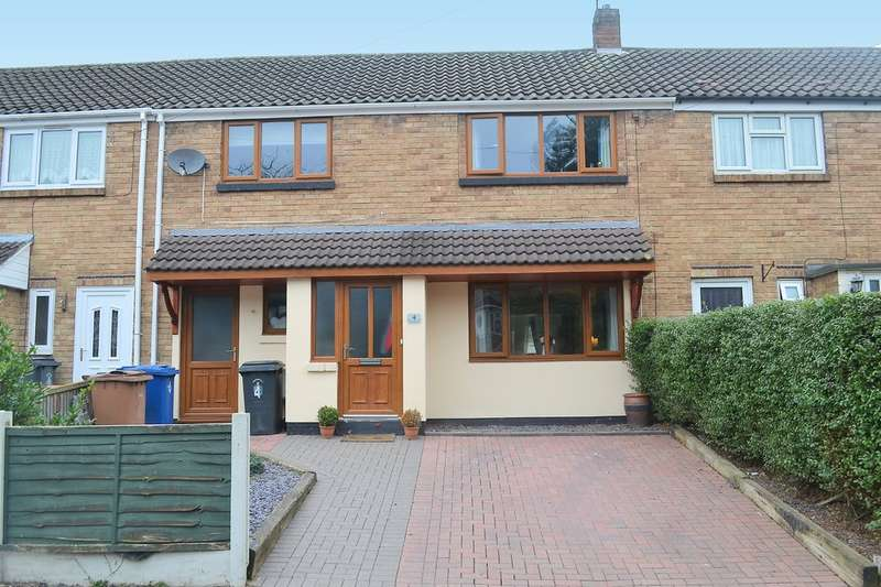3 Bedrooms Terraced House for sale in Windmill Close, Lichfield