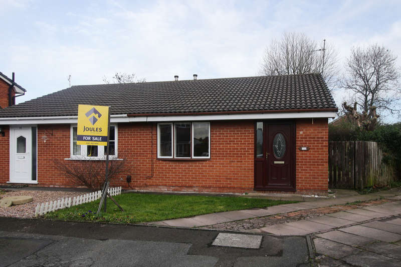 2 Bedrooms Semi Detached Bungalow for sale in Beal Close, Heaton Mersey