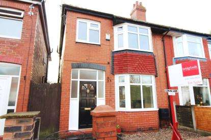 3 Bedrooms Semi Detached House for sale in Sherborne Road, Stockport, Cheshire