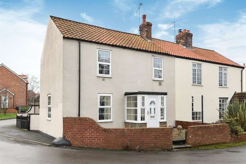 3 Bedrooms Semi Detached House for sale in Main Street, Ulleskelf, Tadcaster, LS24 9DU