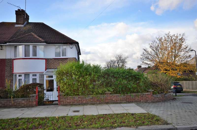 3 Bedrooms Semi Detached House for sale in Alverstone Road, Wembley, Middlesex, HA9 9SA