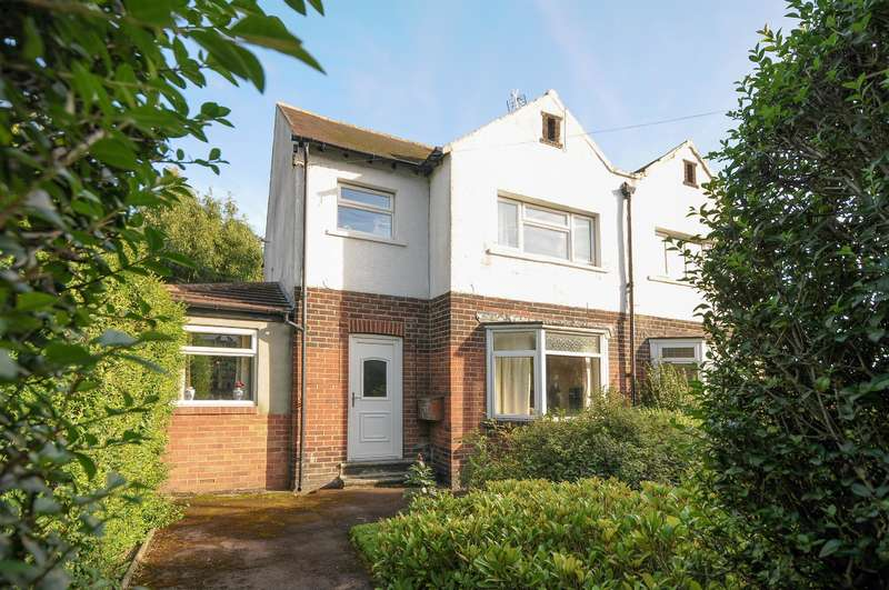 3 Bedrooms Semi Detached House for sale in Harrogate Road, Yeadon, Leeds, LS19 6AH