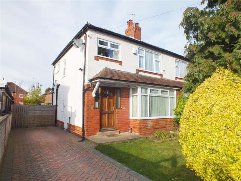 3 Bedrooms Semi Detached House for sale in Talbot Gardens, Roundhay, Leeds, LS8 1AJ