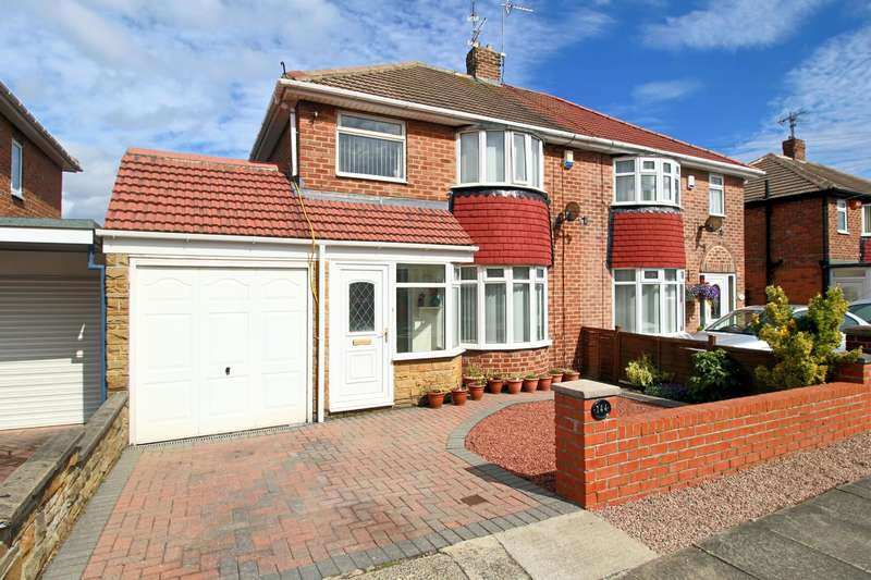 3 Bedrooms Semi Detached House for sale in Alston Crescent, Seaburn Dene, Sunderland, SR6 8NG