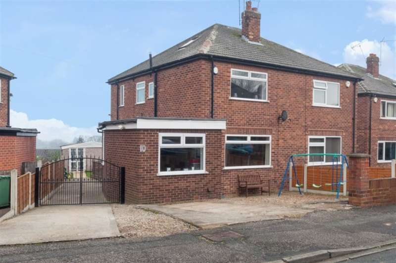 3 Bedrooms Semi Detached House for sale in Bell Mount Gardens, Bramley, LS13