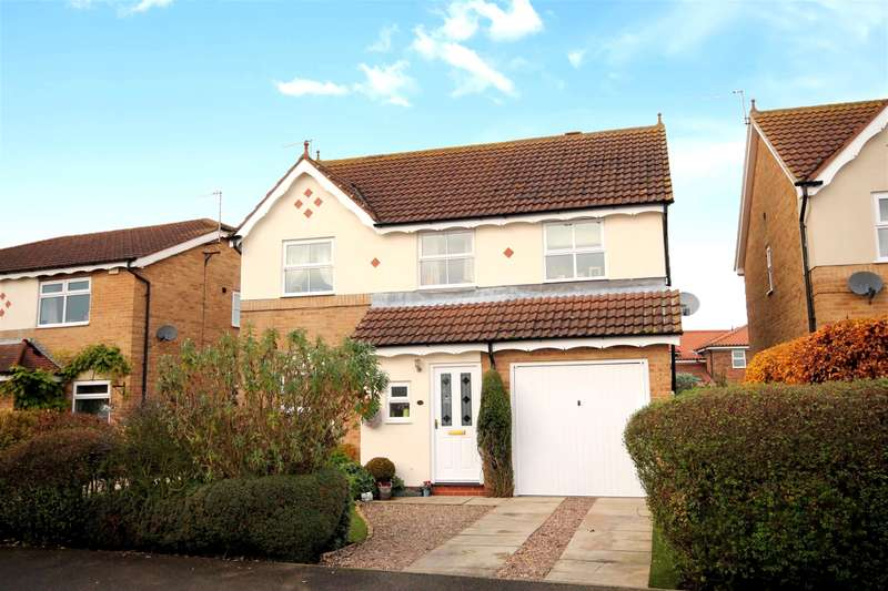 4 Bedrooms Detached House for sale in Willow Drive, North Duffield, YO8 5TS
