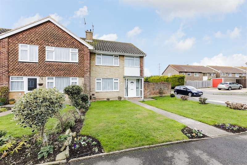 3 Bedrooms End Of Terrace House for sale in Rectory Farm Road, Sompting, BN15 OD