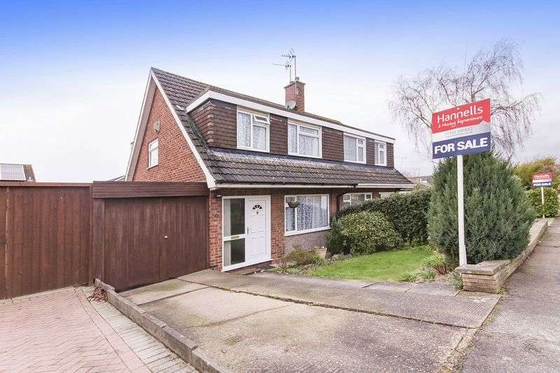 3 Bedrooms Semi Detached House for sale in OLTON ROAD, MICKLEOVER