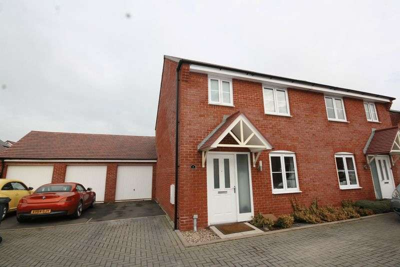 3 Bedrooms Semi Detached House for sale in Mystic Corner, Badgeworth, Cheltenham