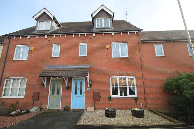 4 Bedrooms Terraced House for sale in Applebees Walk, Hinckley