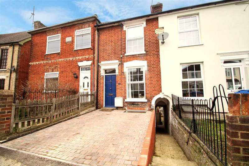 3 Bedrooms Town House for sale in Rosehill Road, Ipswich