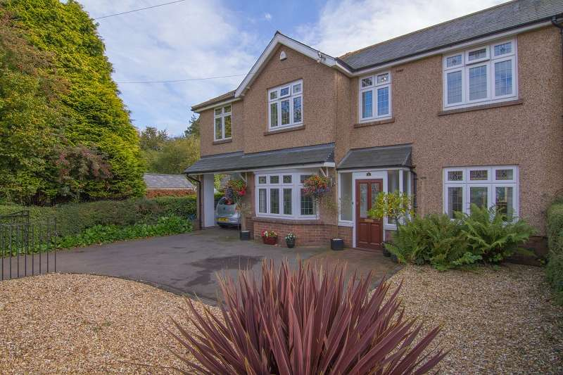 5 Bedrooms Semi Detached House for sale in Helfa Heol Y Delyn , Lisvane, Cardiff. CF14 0SQ