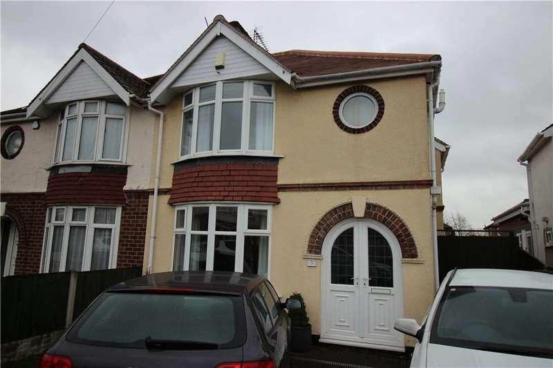 3 Bedrooms Semi Detached House for sale in Grasmere Crescent, Sinfin, Derby, Derbyshire, DE24
