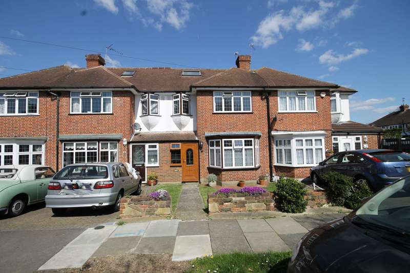 3 Bedrooms Terraced House for sale in Cardinal Avenue, Morden Park