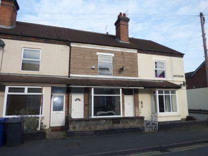 3 Bedrooms Terraced House for sale in Wyggeston Street, Burton-On-Trent, Staffordshire