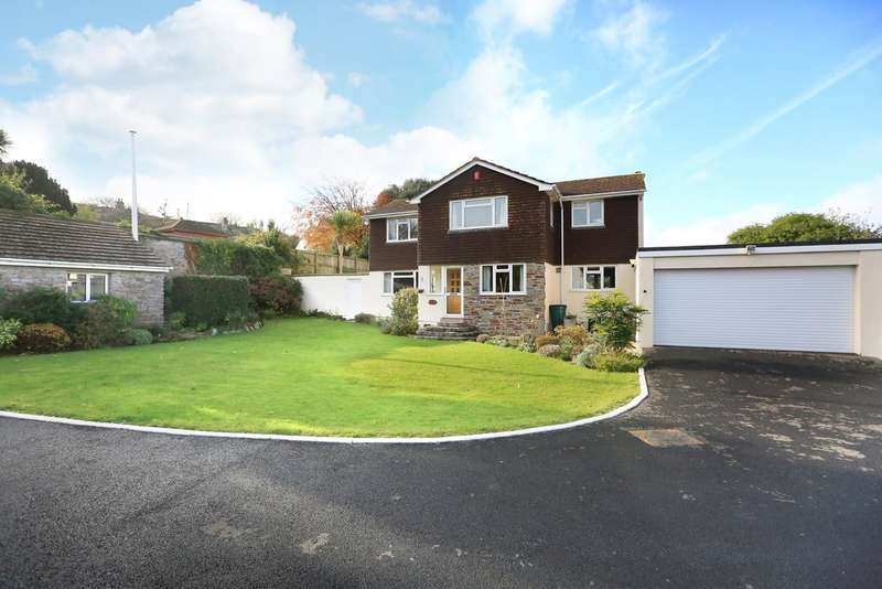4 Bedrooms Detached House for sale in Hooe, Plymouth