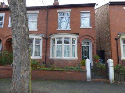 3 Bedrooms End Of Terrace House for sale in St. Annes Road, Manchester, Greater Manchester