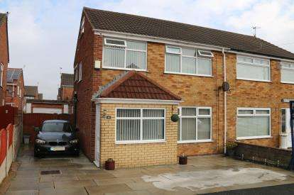 3 Bedrooms Semi Detached House for sale in Drayton Crescent, St. Helens, Merseyside, WA11