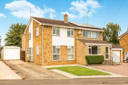 3 Bedrooms Semi Detached House for sale in Brantwood Rise, Banbury, Oxfordshire, Oxon