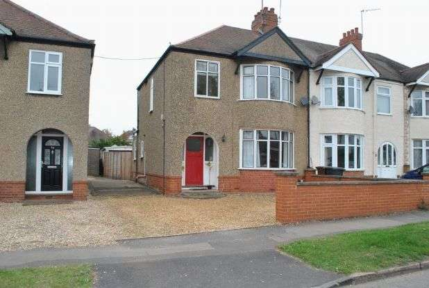 3 Bedrooms Semi Detached House for sale in Birch Barn Way, Whitehills, Northampton NN2 8DT