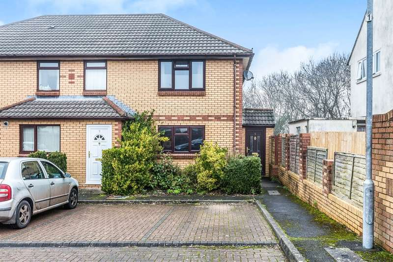 2 Bedrooms End Of Terrace House for sale in Byron Court, Penarth