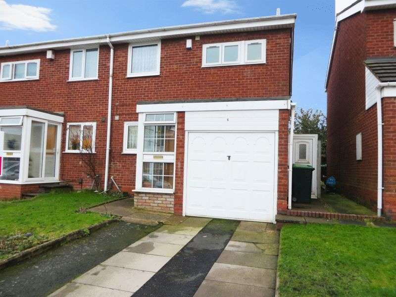 3 Bedrooms Semi Detached House for sale in Churchill Close, Oldbury