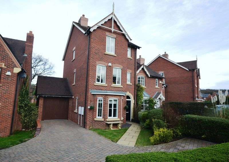 4 Bedrooms Terraced House for sale in Dorchester Drive, Telford