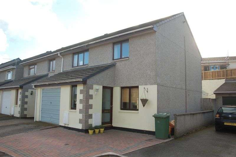 3 Bedrooms Semi Detached House for sale in Crun Melyn Parc, Hayle