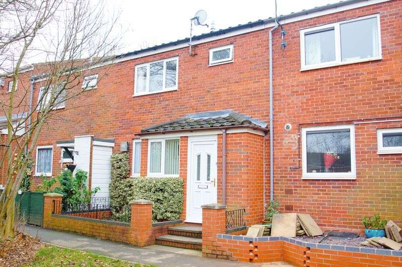 3 Bedrooms Terraced House for sale in Kempsey Close, Redditch, Worcestershire