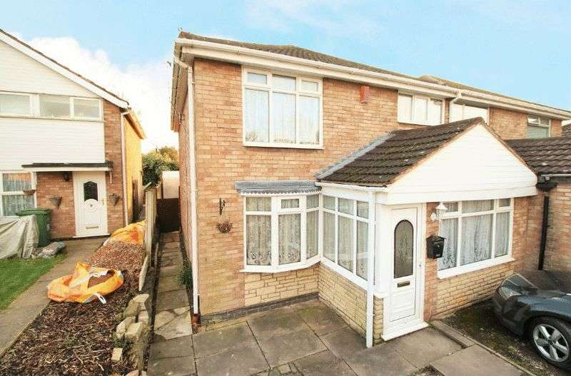 3 Bedrooms Semi Detached House for sale in Gayfield Avenue, Brierley Hill