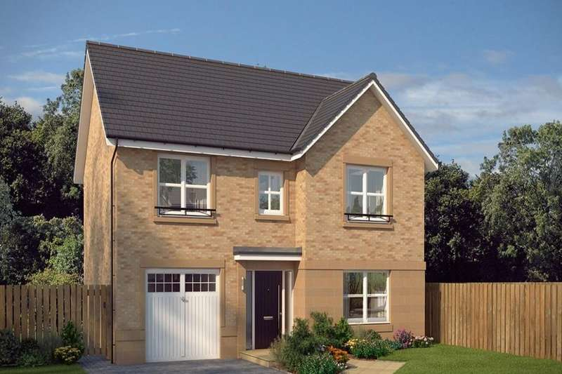 4 Bedrooms Detached House for sale in Hawthornden, Rosewell, EH24