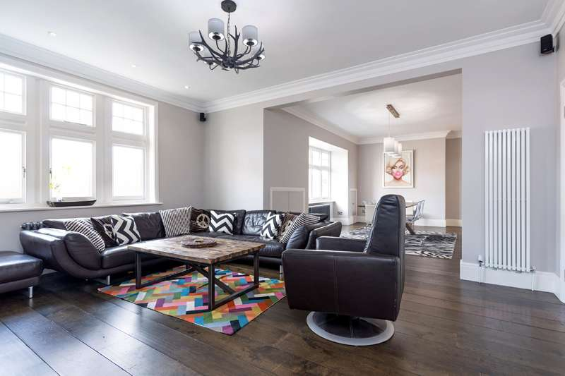 4 Bedrooms Flat for sale in Cannon Hill, West Hampstead