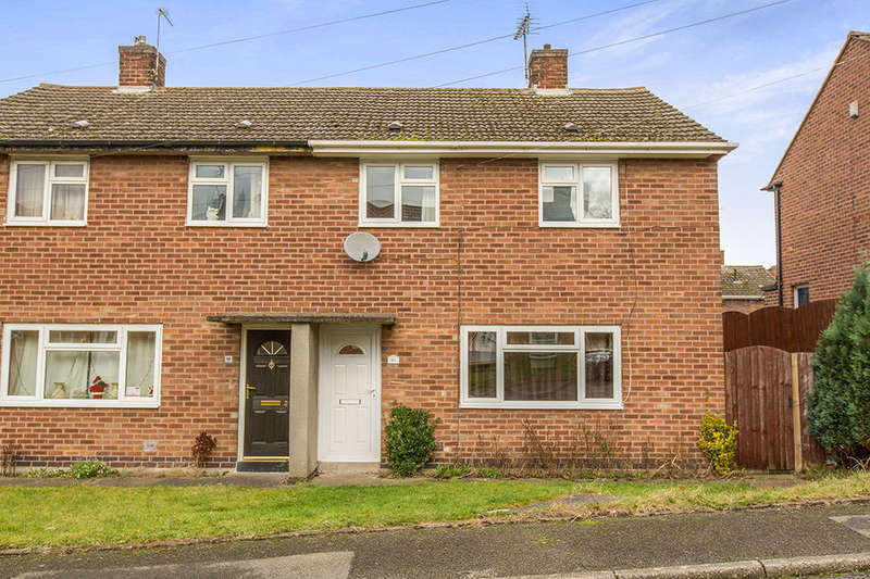 3 Bedrooms Semi Detached House for sale in New Street, Grassmoor, Chesterfield, S42