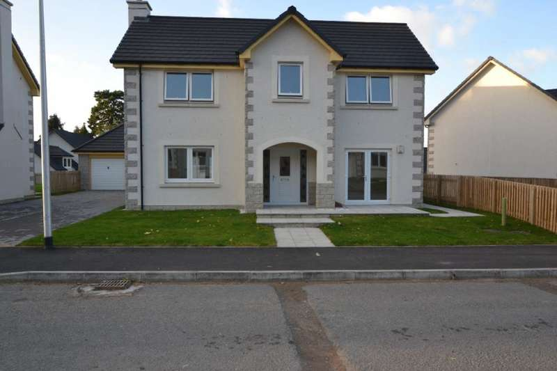 4 Bedrooms Detached House for sale in 10, Heronhill Close Hawick, TD9 9RA