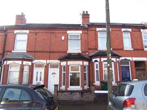 2 Bedrooms Terraced House for sale in Sovereign Road, Earlsdon, Coventry