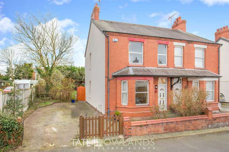 3 Bedrooms Semi Detached House for sale in Woodland Street, Shotton