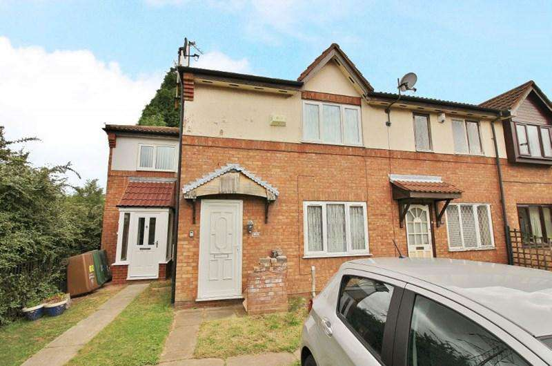 1 Bedroom Terraced House for sale in Consort Drive, Wednesbury