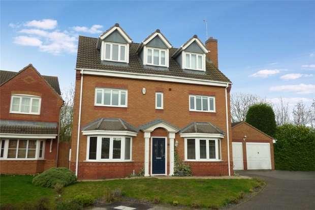 5 Bedrooms Detached House for sale in St Buryan Close, Horeston Grange, Nuneaton, Warwickshire