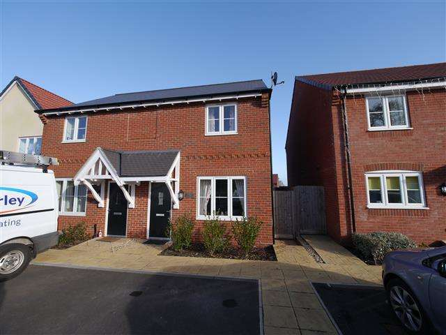 2 Bedrooms Semi Detached House for sale in Thomnas Place, Wellington TA21