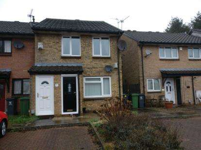 2 Bedrooms Maisonette Flat for sale in Eider Close, Saint Mellons, Cardiff, Caerdydd