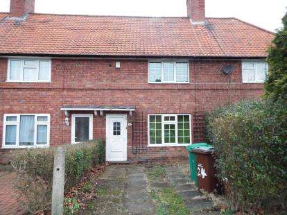 2 Bedrooms Terraced House for sale in Wensor Avenue, Beeston, Nottingham