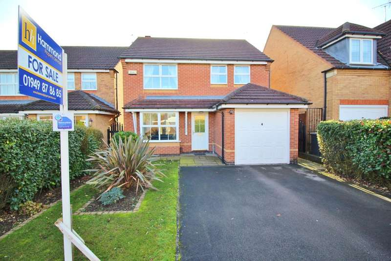 3 Bedrooms Detached House for sale in Angelica Court, Bingham NG13