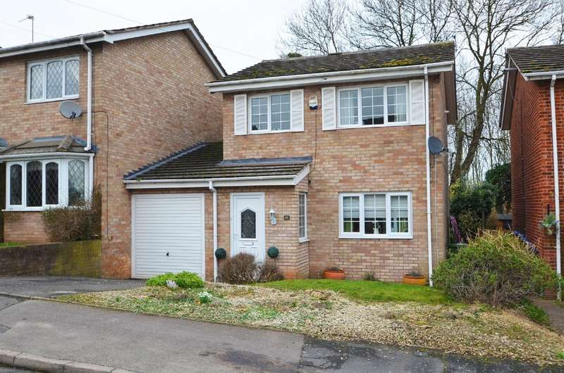 3 Bedrooms Link Detached House for sale in Lestock Close, Bilton, Rugby