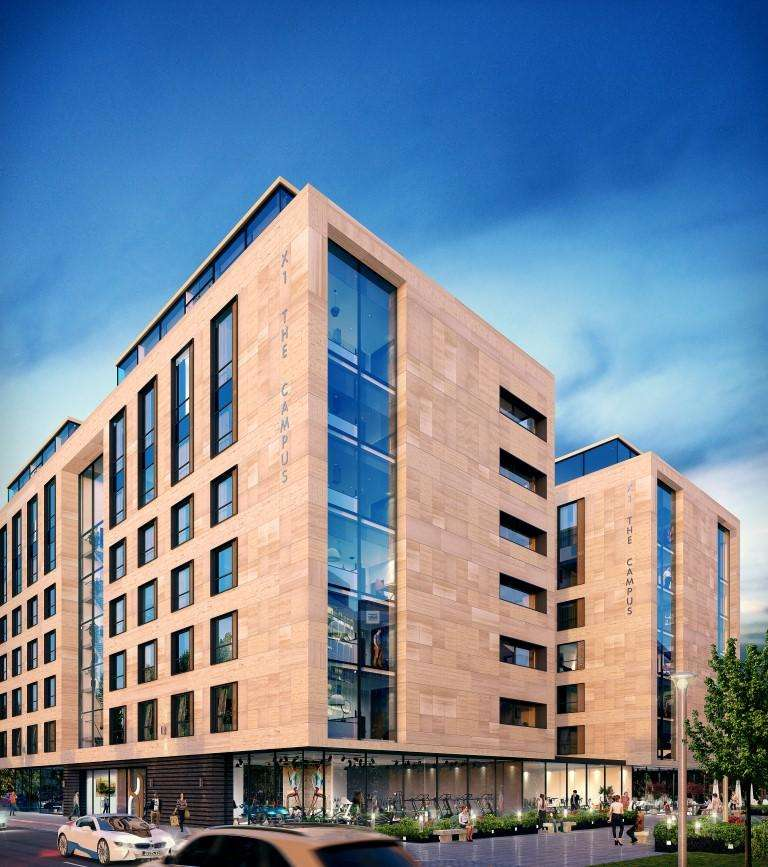 Studio Flat for sale in X1 The Campus, 30 Frederick Road, Salford, Manchester M6