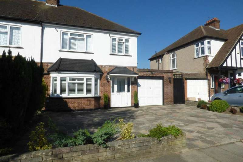 3 Bedrooms Semi Detached House for sale in Argyle Gardens, Upminster RM14