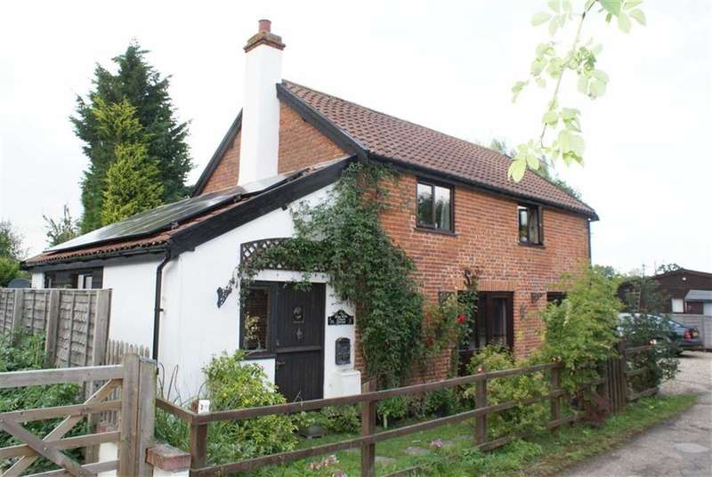 2 Bedrooms Detached House for sale in Yaxley Road, Mellis, Suffolk