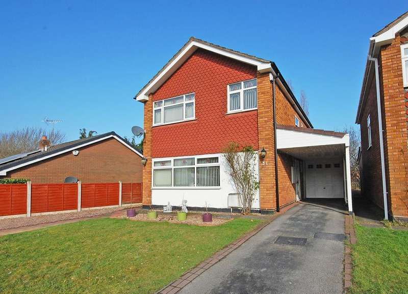 4 Bedrooms Detached House for sale in RICHMOND AVENUE, Finchfield, Wolverhampton WV3