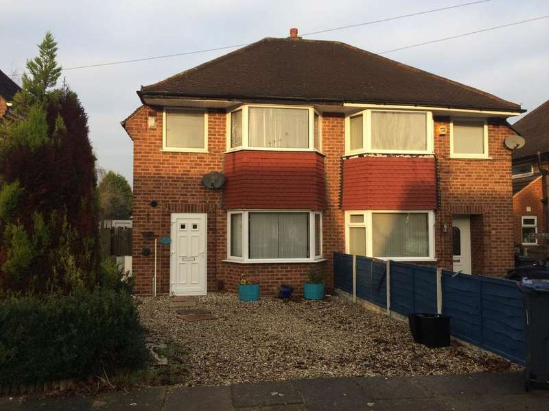 3 Bedrooms Semi Detached House for sale in Maryland Avenue, Hodge Hill, Birmingham B34