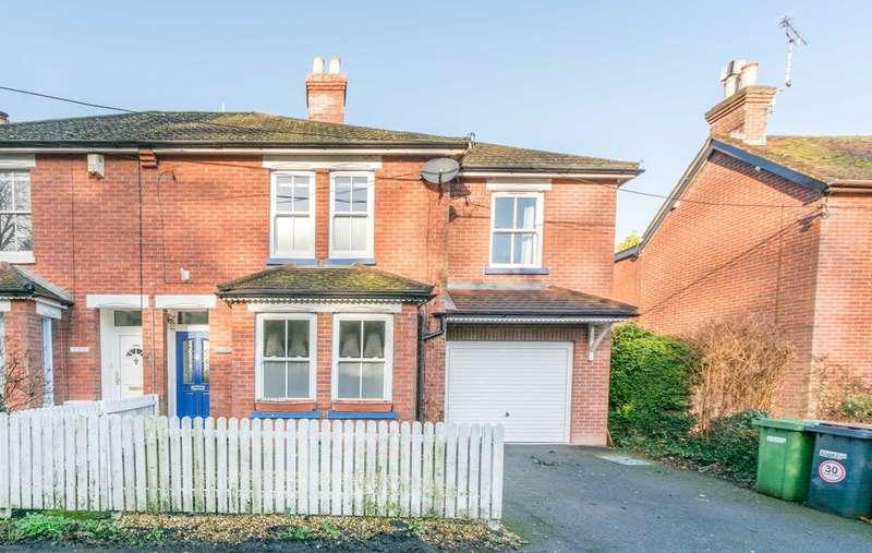 4 Bedrooms Semi Detached House for sale in School Lane, Bursledon, Southampton SO31